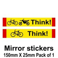 think bike mirror stickers