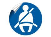 Seat Belt Stickers